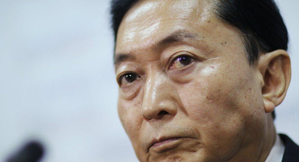 Japonya'nın Eski  Başbakanı Hatoyama