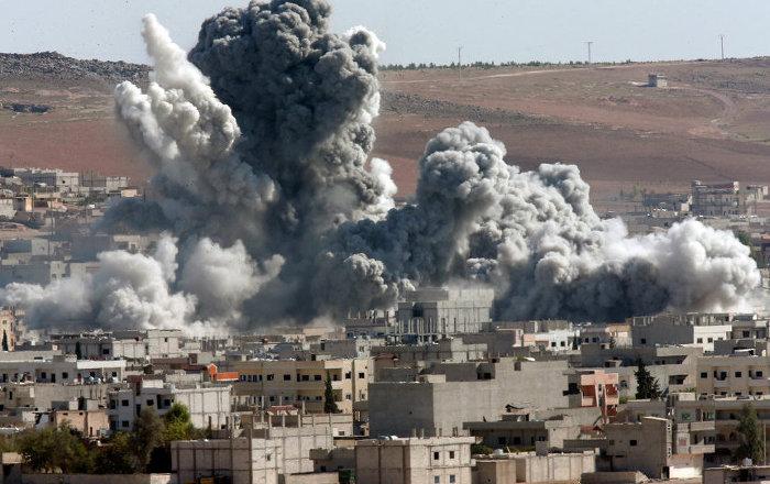 SANA: Koalisyonun Deyr-ez Zor'daki saldırısında 40 sivil öldü