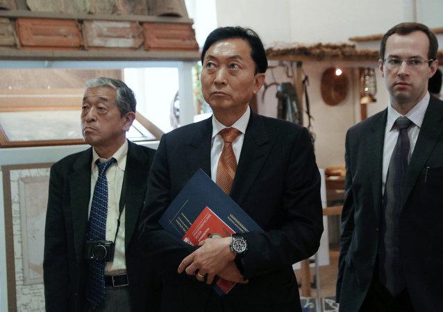 Japonya eski Başbakanı Yukio Hatoyama, Kırım'ı ziyaret etti.