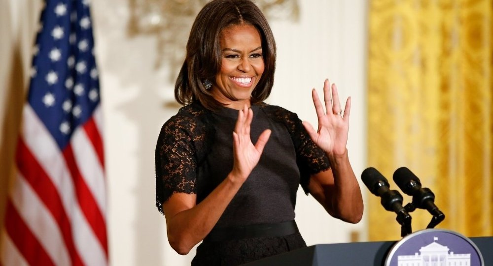 ABD First Lady'si Michelle Obama