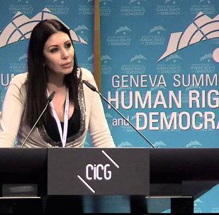 Şam merkezli muhalif Çoğulcu Toplum Hareketi lideri Randa Kassis