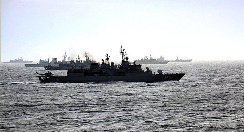 Karadeniz'de NATO tatbikatı