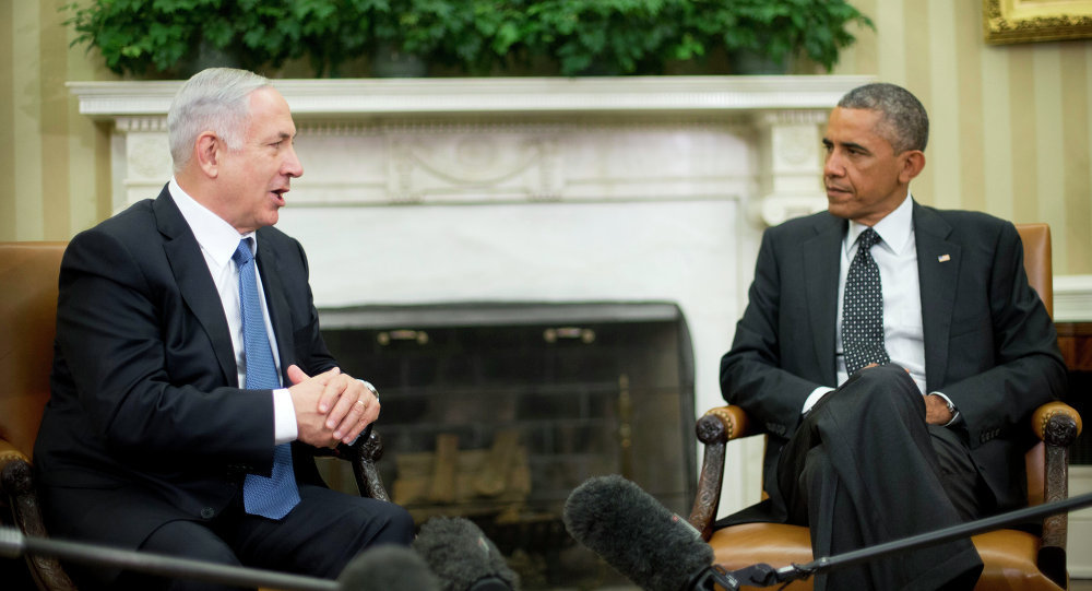 İsrail Başbakanı Benyamin Netanyahu- ABD Başkanı Barack Obama