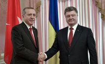 Recep Tayyip Erdoğan & Pyotr Poroşenko