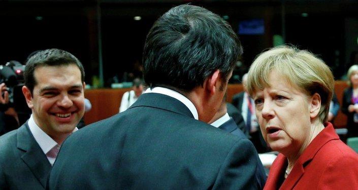 Almanya Başbakanı Angela Merkel - Yunanistan Başbakanı Aleksis Çipras