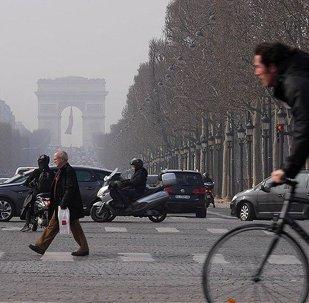 Paris hava kirliliği