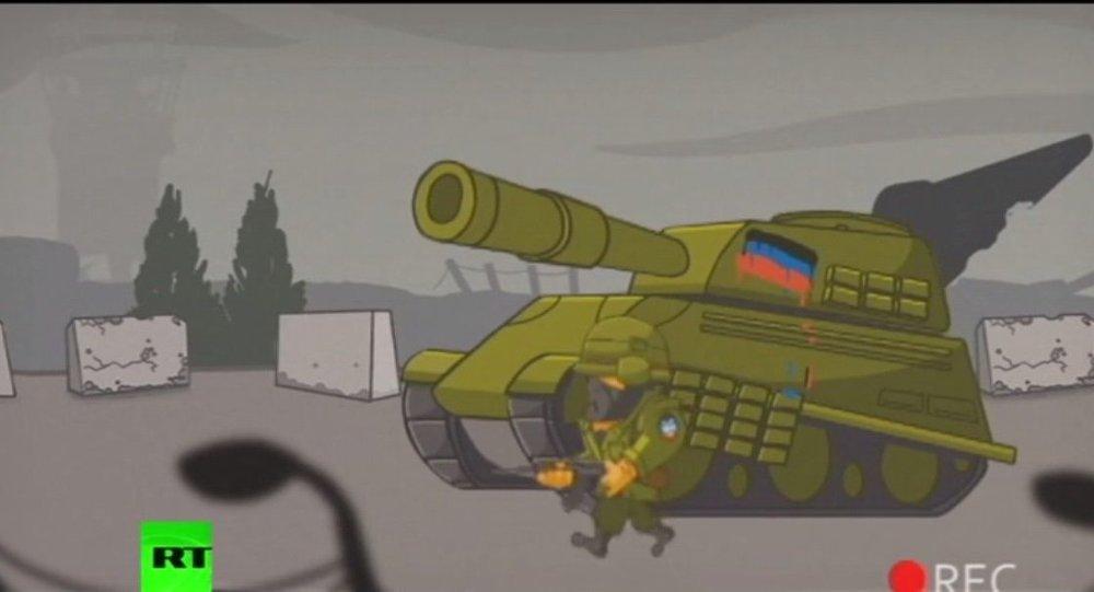 'Donetsk Savaşı' bilgisayar oyunu