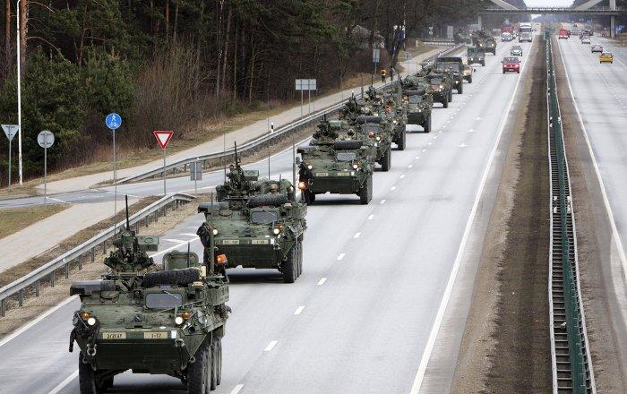ABD'den Avrupa'ya Rusya'ya karşı 'Stryker' desteği