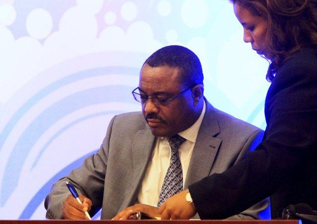 Etiyopya Başbakanı Desalegn