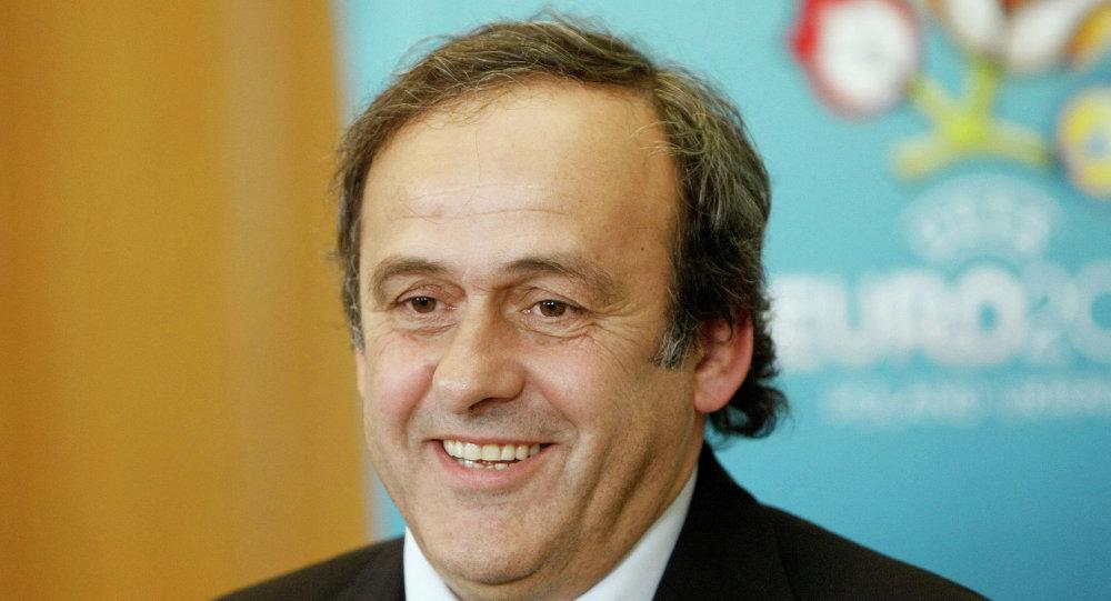UEFA Başkanı Michel Platini