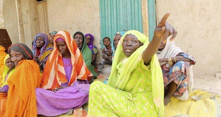 Boko Haram'ın saldırısından kurtulan kadınlar