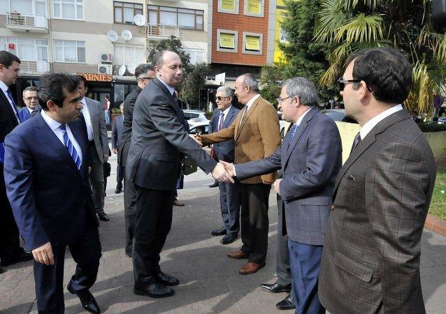 Belarus Sanayi Bakanı Vovk'tan Kocaeli Valisi'ne ziyaret