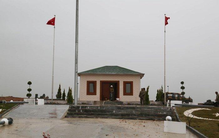 Süleyman Şah'a 16 yıldızlı türbe
