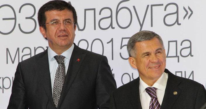 Nihat Zeybekci & Rüstem Minnihanov