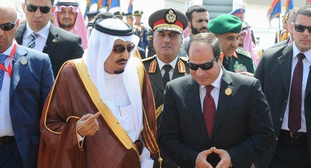 Suudi Arabistan Kralı Selman bin Abdulaziz- Mısır Cumhurbaşkanı Abdulfettah el Sisi