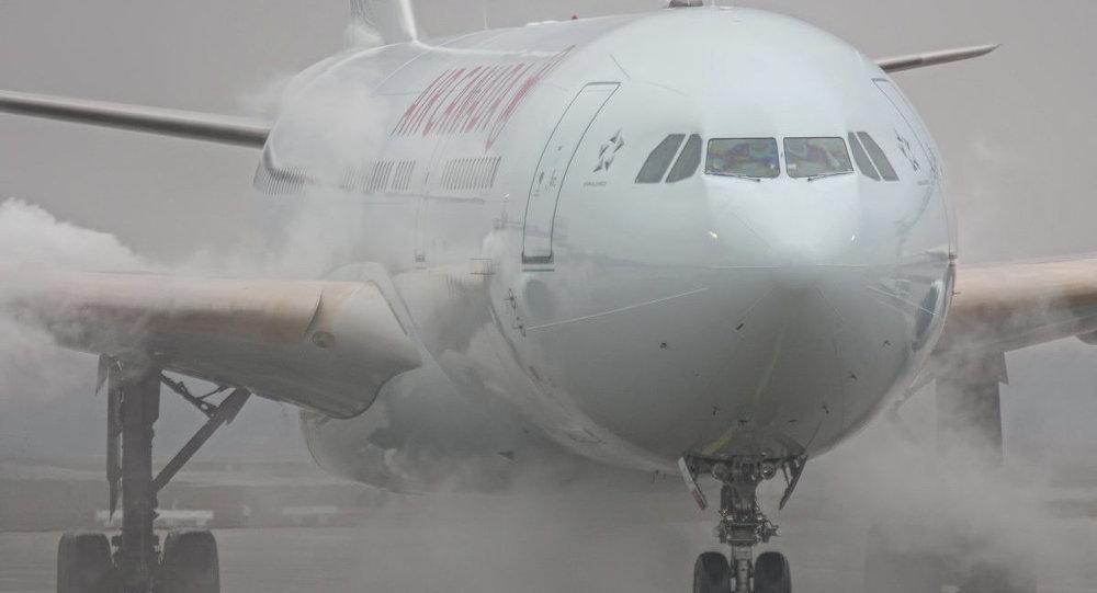 Air Canada Havayolları'nın Toronto – Halifax seferini yapan uçağı pistte kontrolden çıktı.