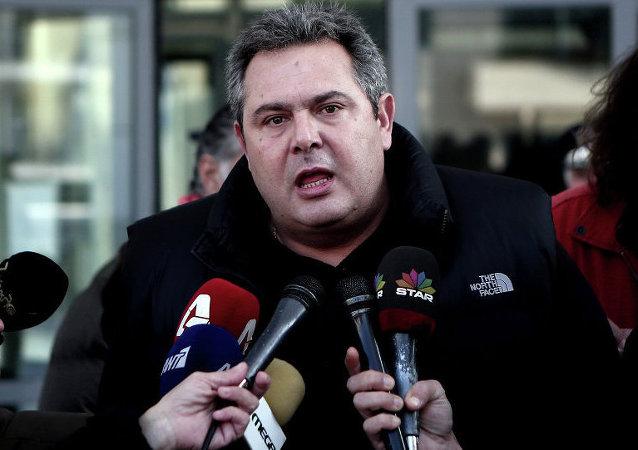 Yunanistan Savunma Bakanı Panos Kammenos