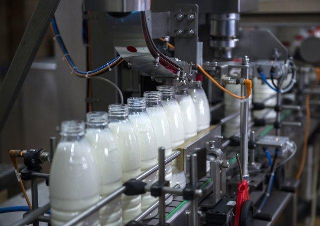 Süt ve süt ürünleri fabrikası