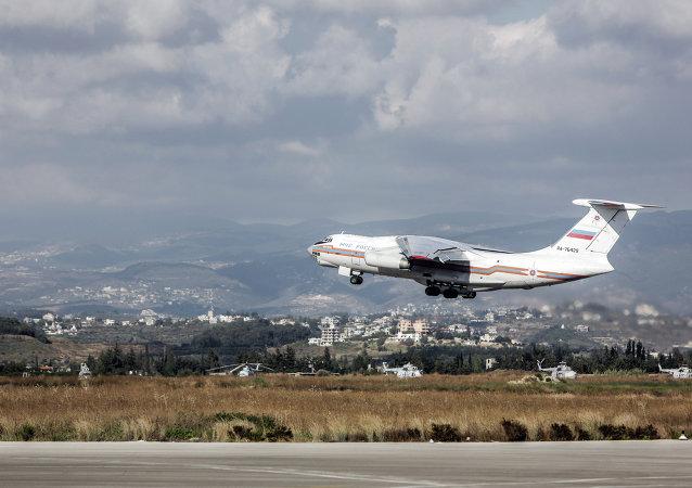 Rus tahliye uçağı