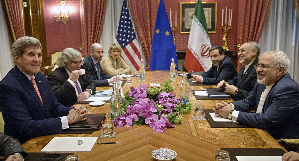 John Kerry & Cevad Zarif