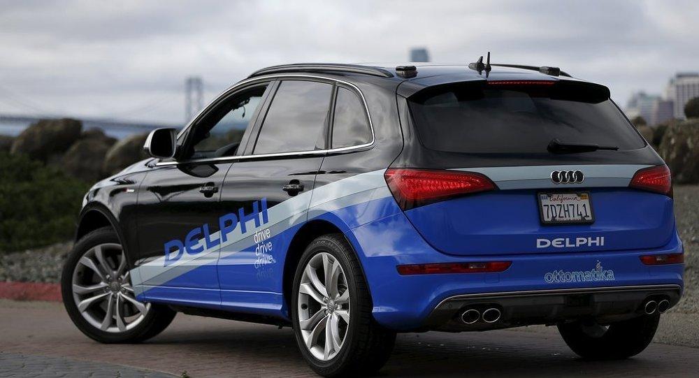 Audi Q5 model sürücüsüz araç