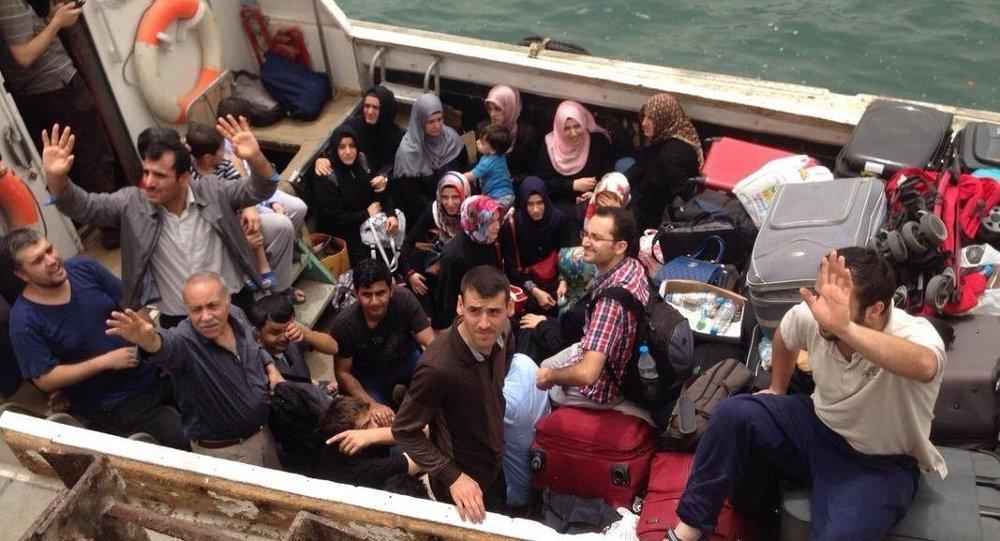 Aden'deki Türklerin tahliye edilmesi