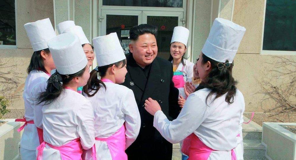 Kuzey Kore Devlet Başkanı Kim Jong-un
