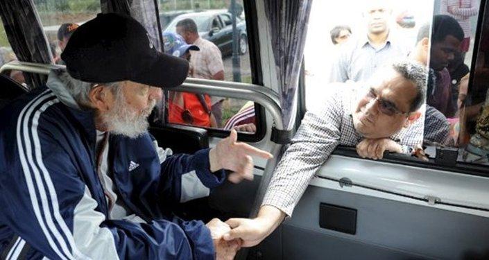 Küba'nın eski lideri Fidel Castro