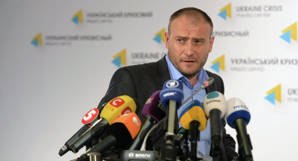 Sağ Sektör lideri Dmitriy Yaroş