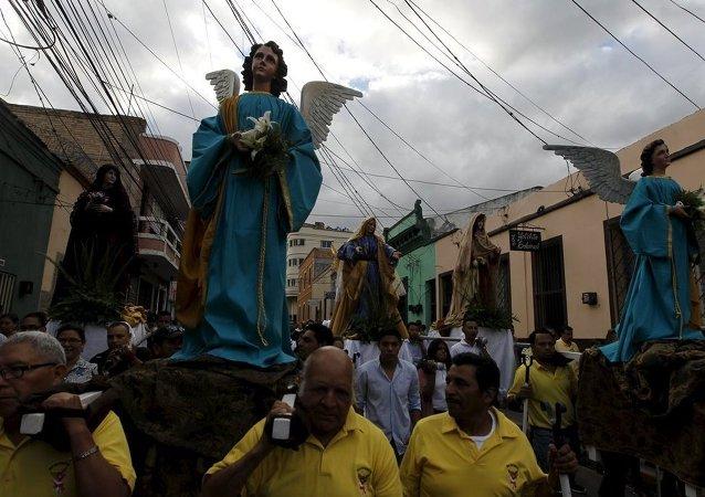 Honduras Paskalya kutlamaları