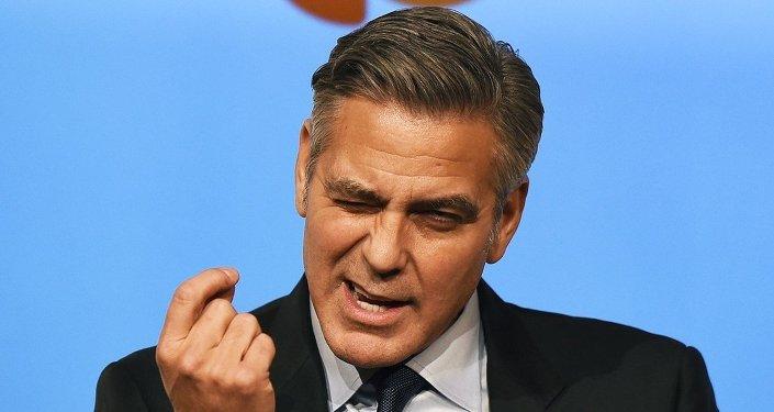 ABD'li aktör George Clooney
