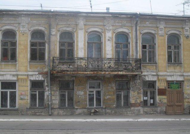 Samara kentinde eski Türk elçilik binası