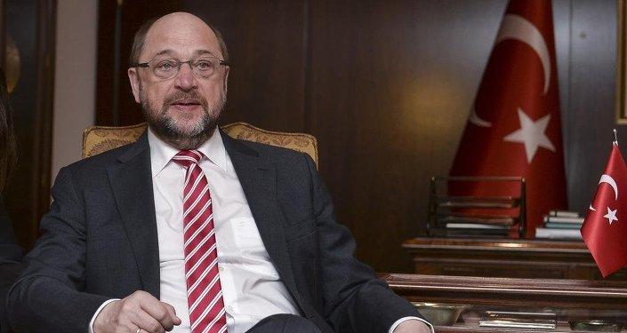 Avrupa Parlamentosu Başkanı Martin Schulz