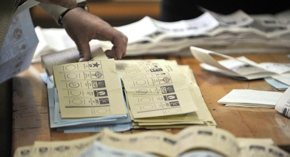 Seçim-Oy pusulası