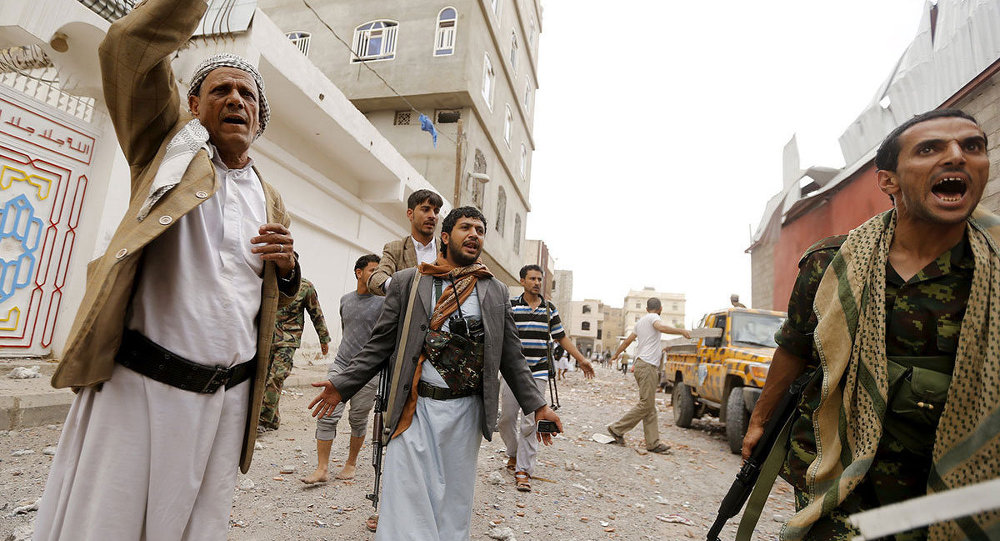 Hava saldırılarının ardından Yemen
