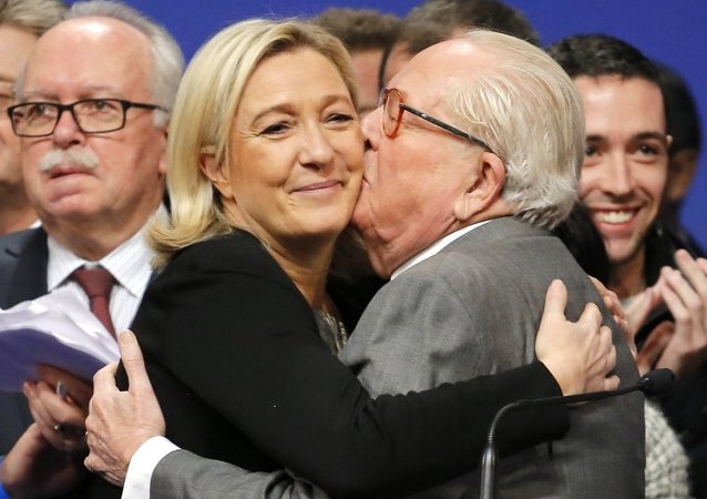Marine Le Pen - Jean-Marie Le Pen