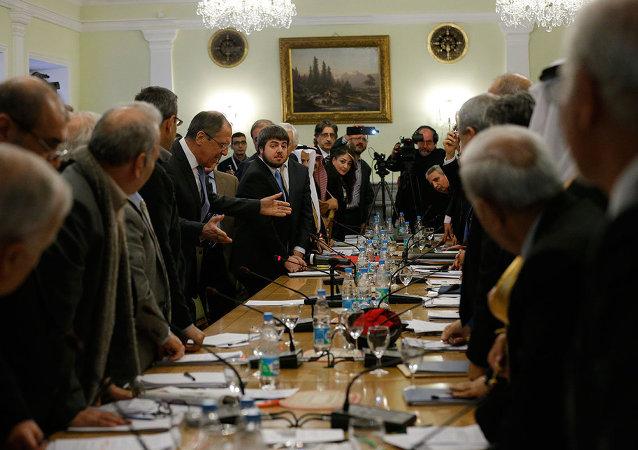 Moskova'daki Suriye görüşmeleri