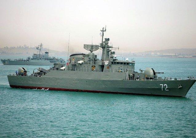 İran savaş gemileri
