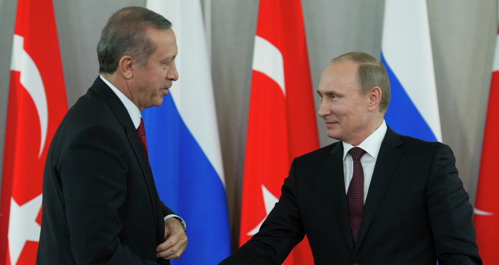 Vladimir Putin & Recep Tayyip Erdoğan