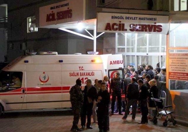 Bingöl polis saldırı