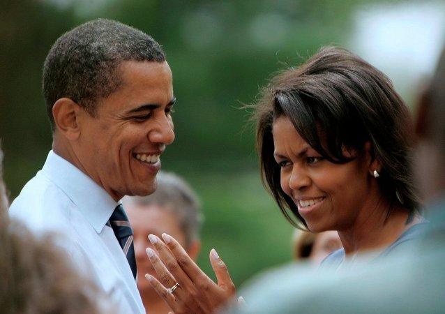 ABD Başkanı Barack Obama ve Michelle Obama
