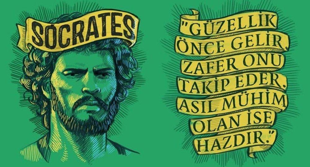 'Düşünen spor dergisi' Socrates