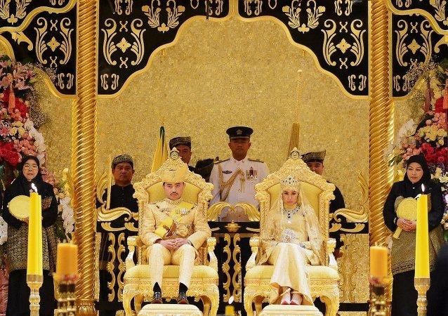 Brunei Prensi Abdülmelik'in düğünü