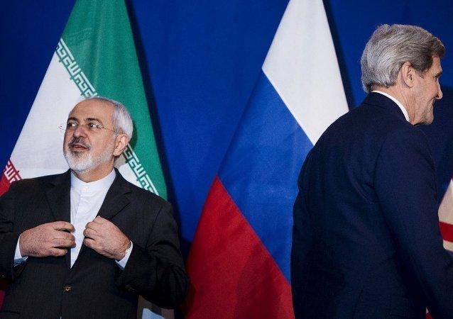 İran Dışişleri Bakanı Muhammed Cevad Zarif- ABD Dışişleri Bakanı John Kerry