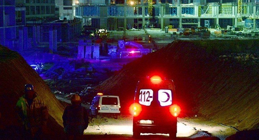 Ankara inşaat çöktü