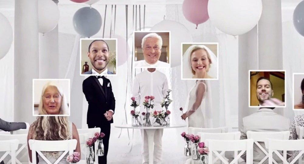 IKEA'nın çevrimiçi düğün sitesi