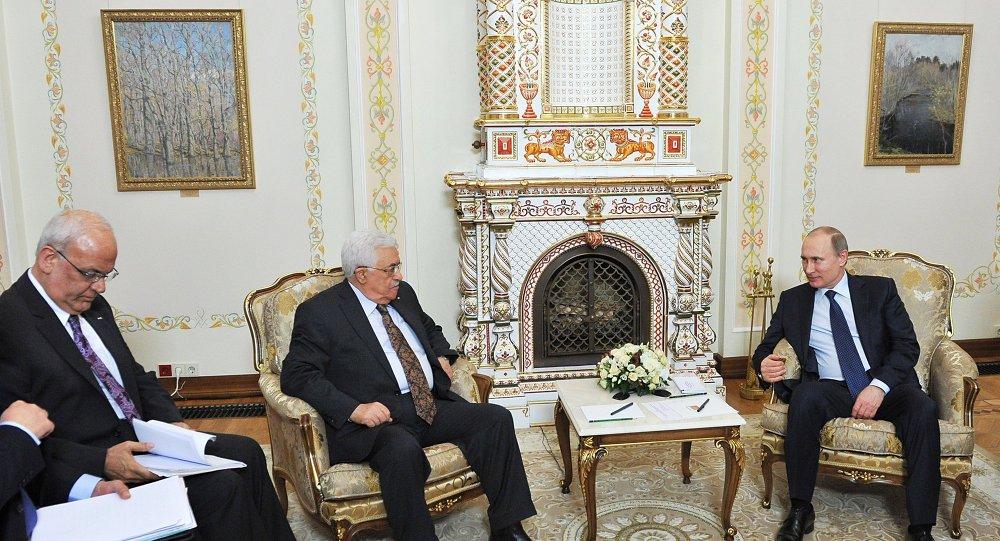 Vladimir Putin- Mahmud Abbas