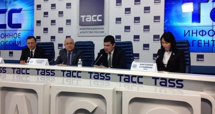 TBMM Başkanı Cemil Çiçek'in Moskova ziyareti
