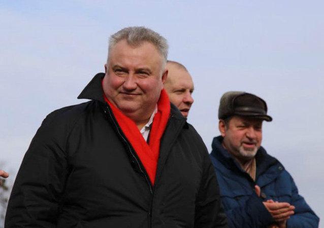 Ukrayna eski milletvekillerinden ve anti-Maydan aktivisti Oleg Kalaşnikov