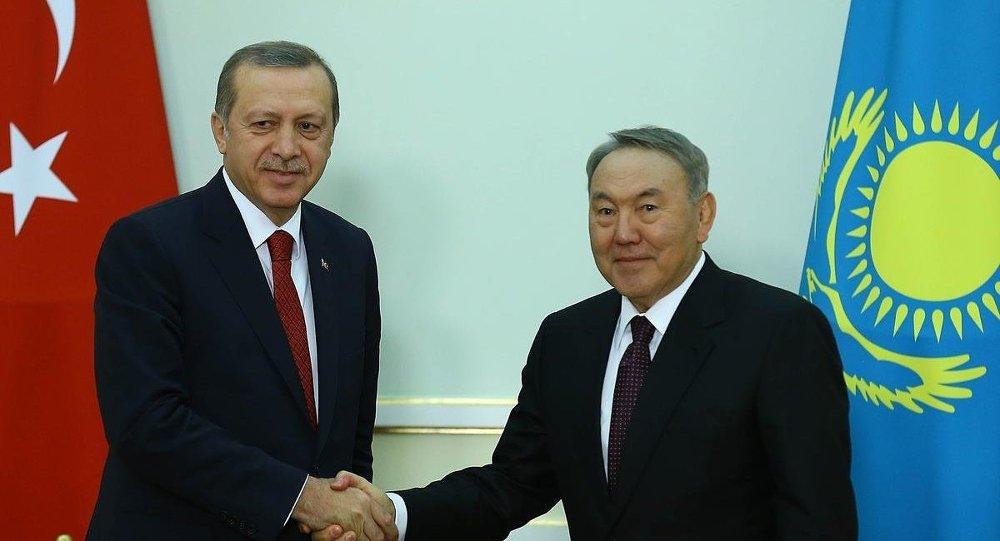 Recep Tayyip Erdoğan & Nursultan Nazarbayev